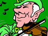 Musician Leprechaun Wallpaper